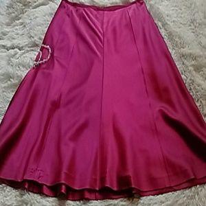 Ann Taylor Silk Skirt! 🌼💕